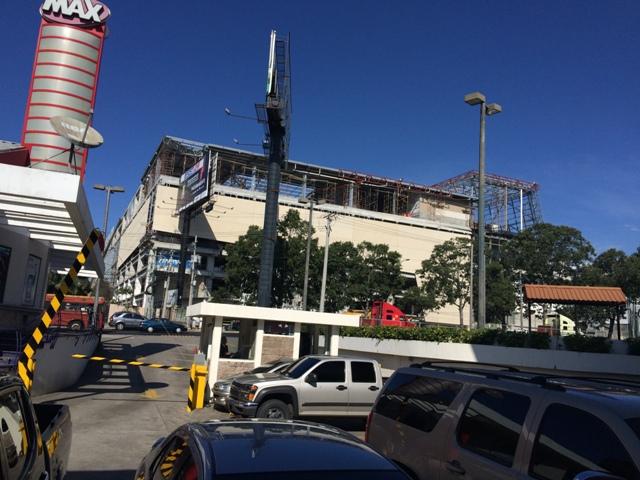 Construcción de Centro comercial arkadia guatemala