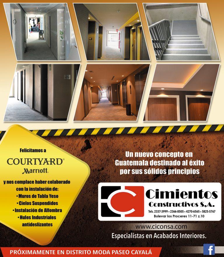 Construcción de Hotel Marriot zona 10 guatemala